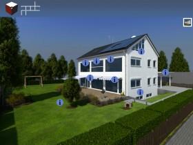 Virtuelles Haus
